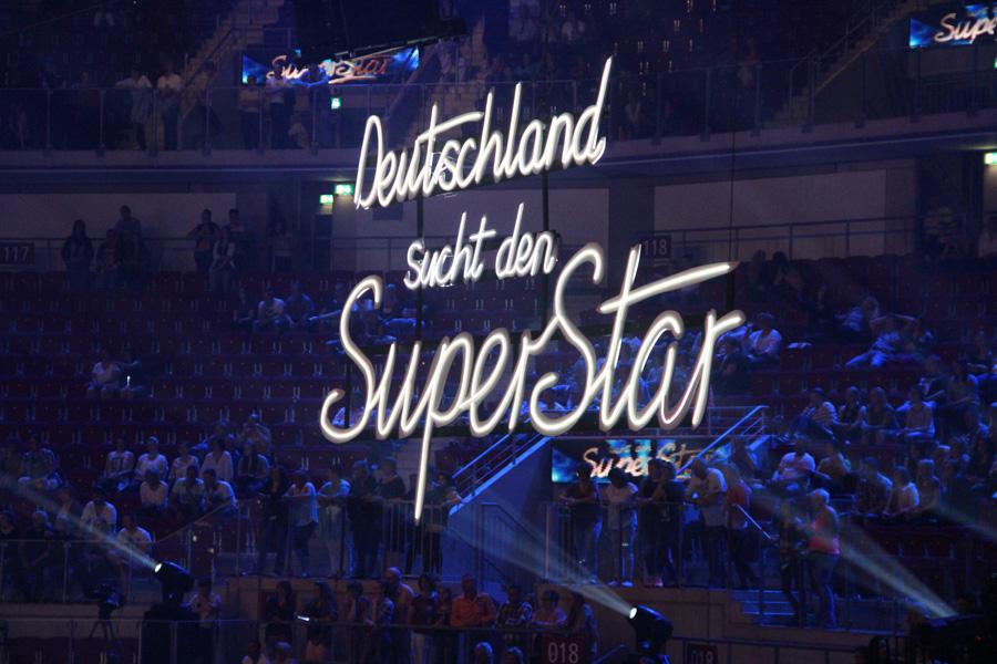 Deutschland sucht den Superstar Logo in Arena
