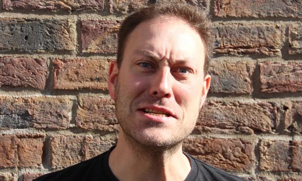 Moritz Rosch macht Faxen