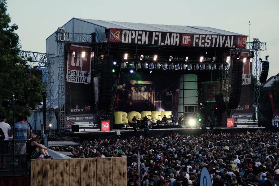 Bosse rocken das Festival