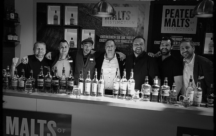 Whisky Fair die Crew