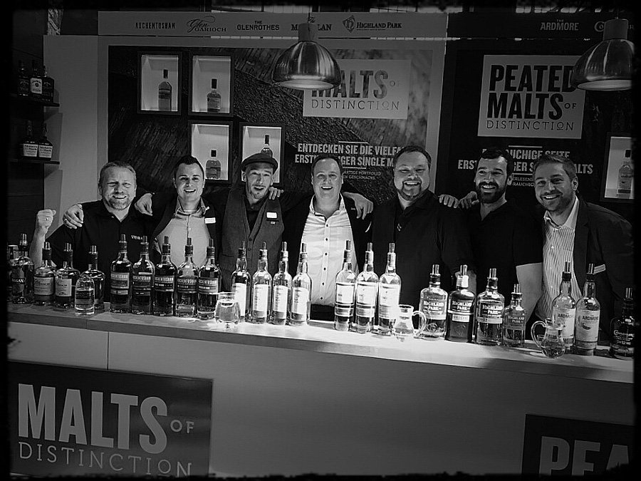 Whisky Fair die Crew