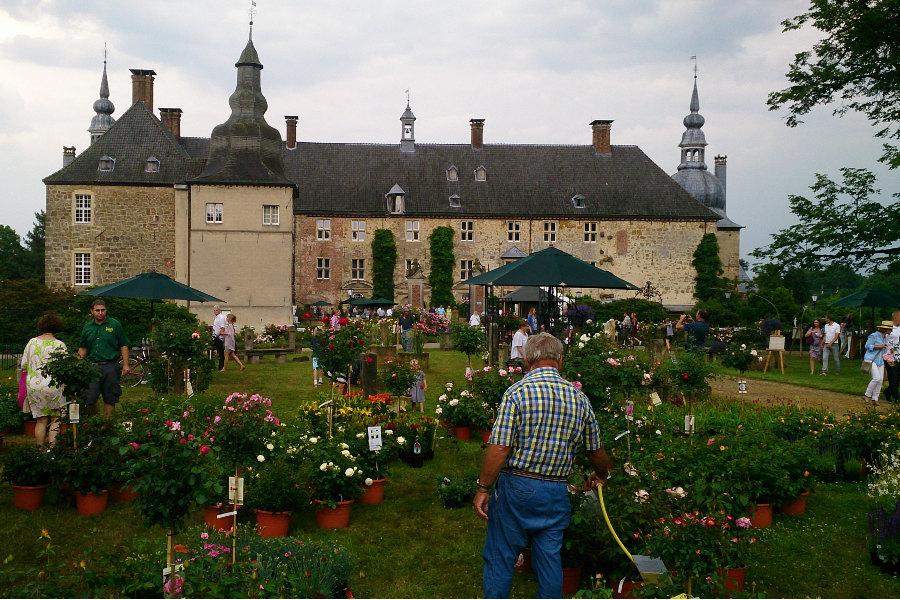 Impressionen Gartenanlage Schloss Lembeck