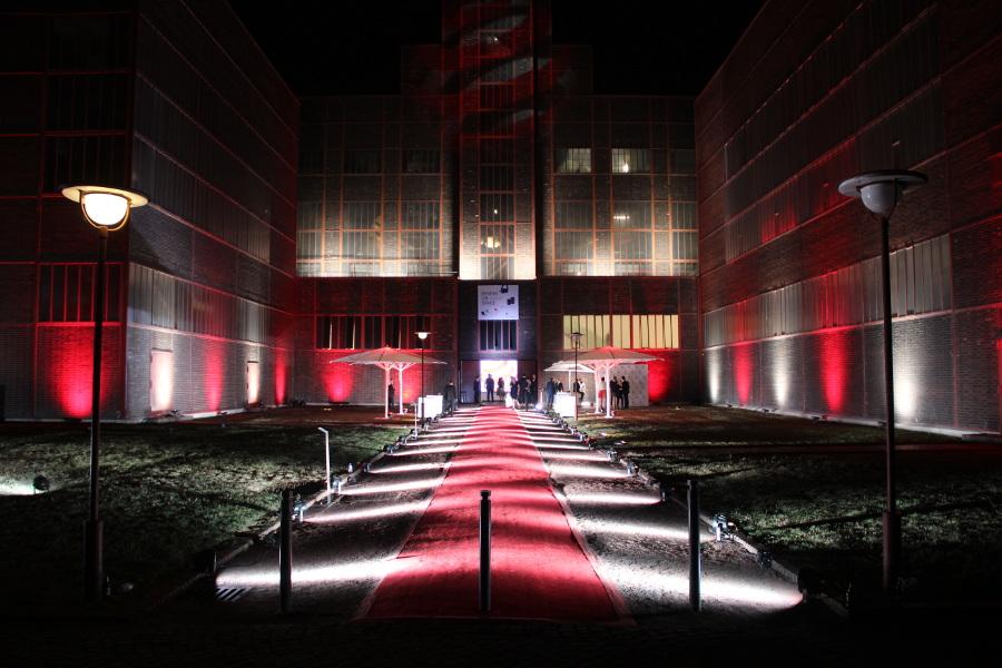 Impressionen Location red dot design museum