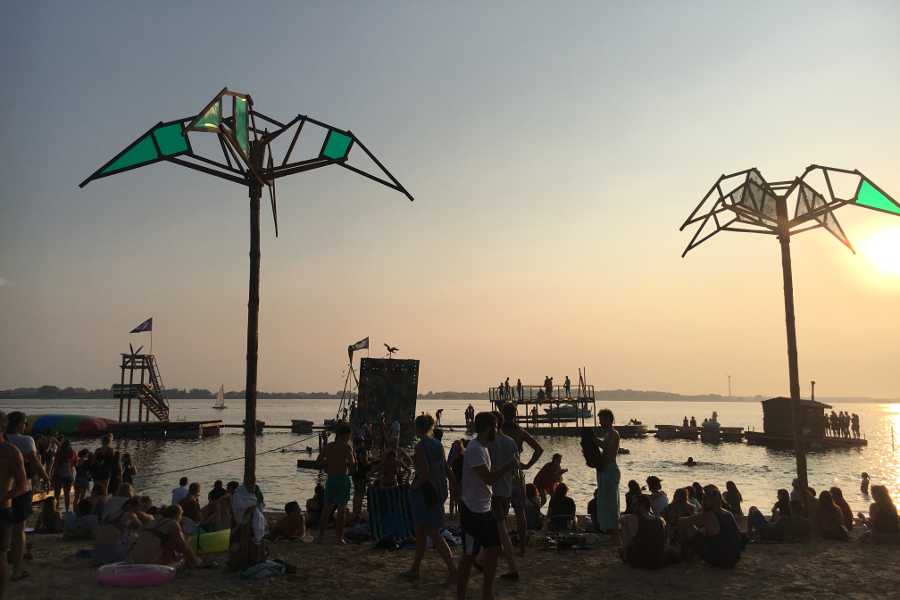 Stimmung Abend Strand