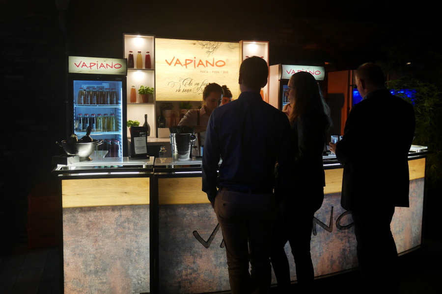 Impressionen Vapiano bar