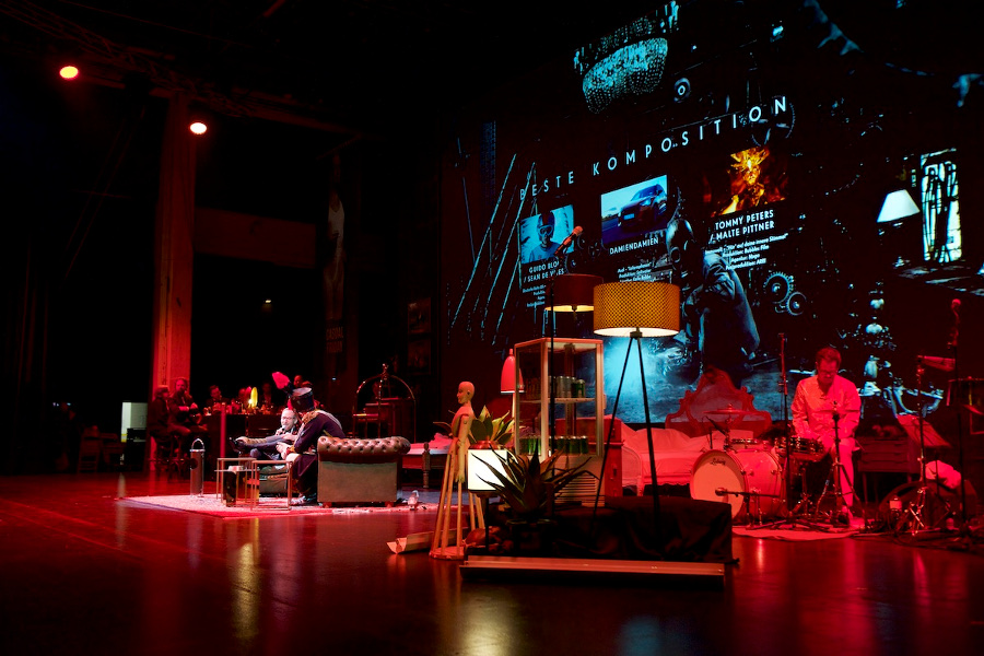 Ambiente Bühnenbild Show