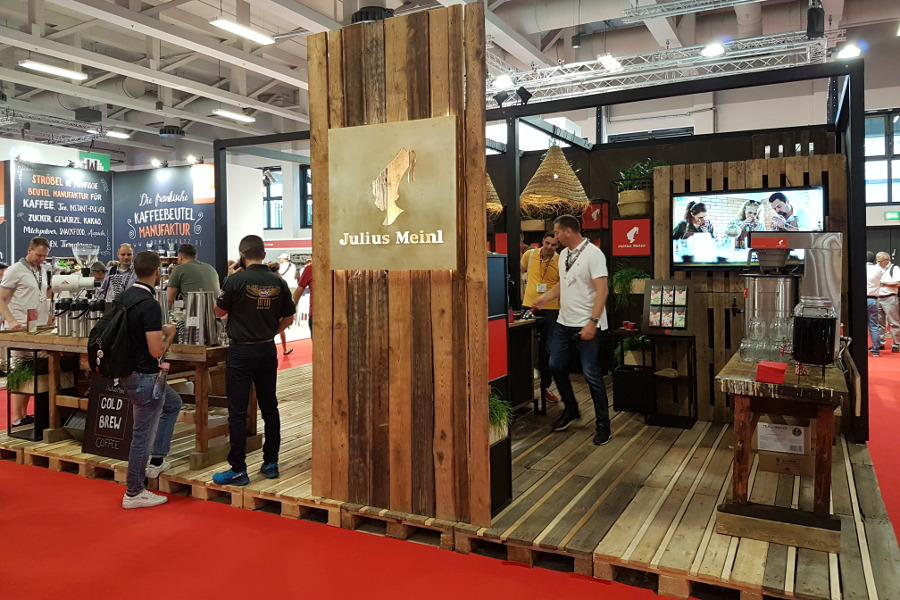Messestand Julius Meinl World of Coffee