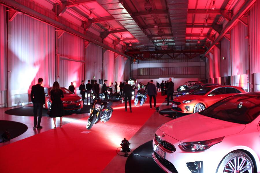 Red Dot Musem Autoausstellung