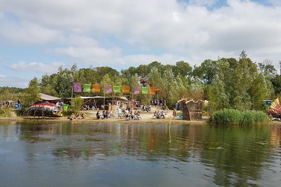 Impressionen Festivalgelände Lagune