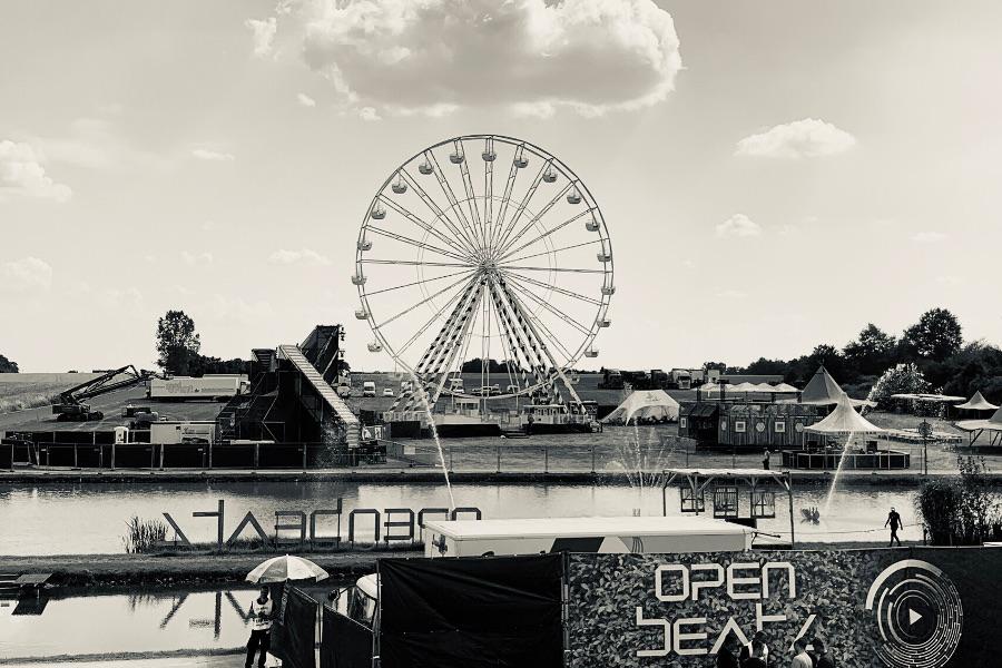 Festivalgelände Open Beatz