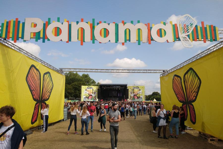 Eingangsbereich Panama Open Air