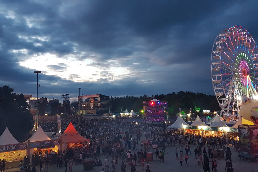Vogelperspektive Festival In-Field
