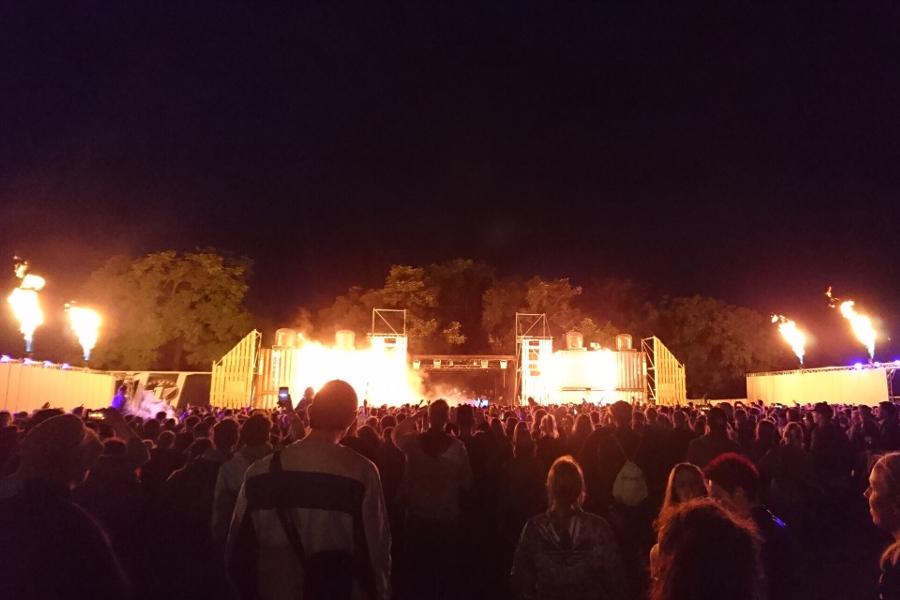 Feuershow Panama Festival