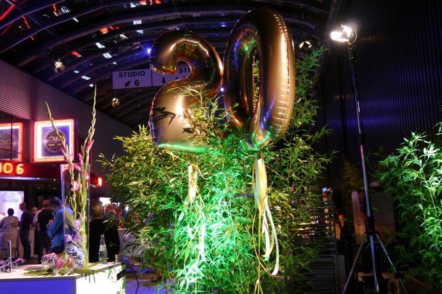 Dekoration Zahlenluftballons