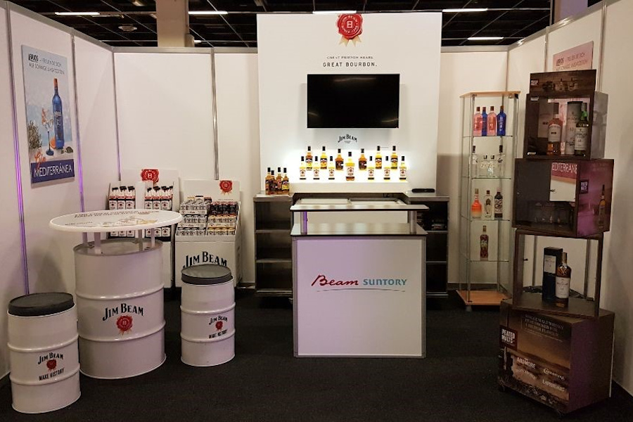 Stand Messe BeamSuntory