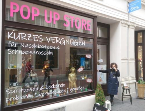 Pop Up Store Kurzes Vergnügen 2020