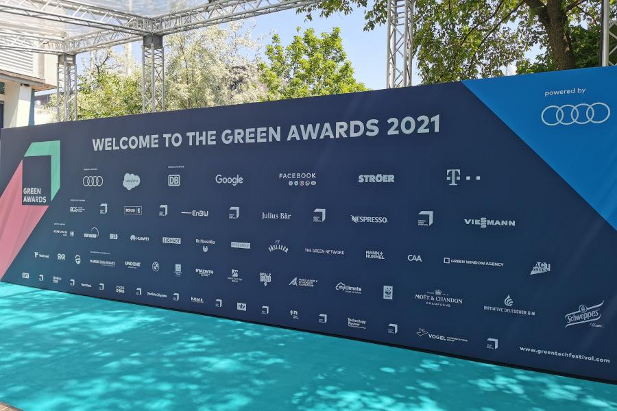 Grüner Teppich GreenAward